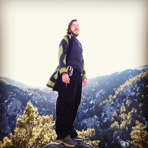 timetravelingmemories:  Jake! #boulder #hiking #colorado
