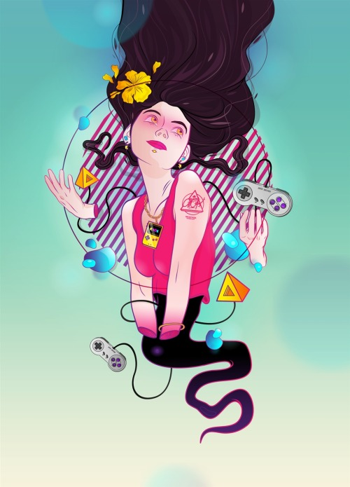 "I just posted ""Girl Ghost"" alex Ghevara  (Chile) via Curioos"