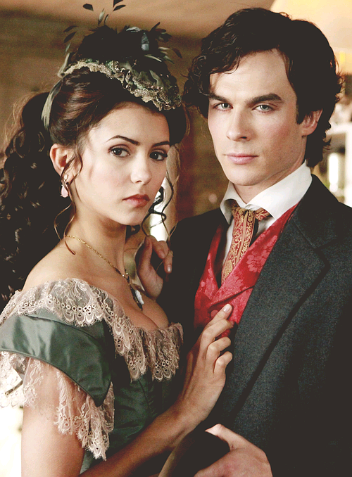 Damon x Katherine - [1.13 - Children of the Damned]