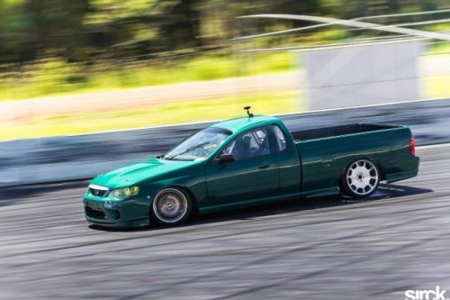 Tim's Falcon drift ute. Real as fuck