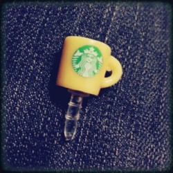 New phone charm number two #starbucks #coffee