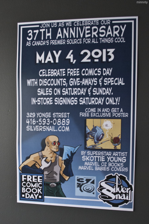 Free Comic Book Day at Silver Snail - May 4, 2013