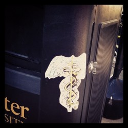 Hermes infinity staff in color #stickerbomb #infinity #awesomeness  (at East Hall)