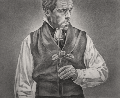 euclase2:  Prince Charming, pencil drawing