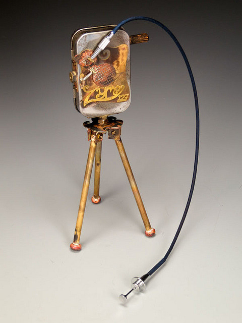 Zymo 127 handmade pinhole camera by Judith Hoffman on Flickr.