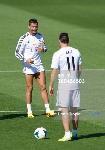 Getty Images Sport Real Madrid Training Session Cristiano Ronaldo