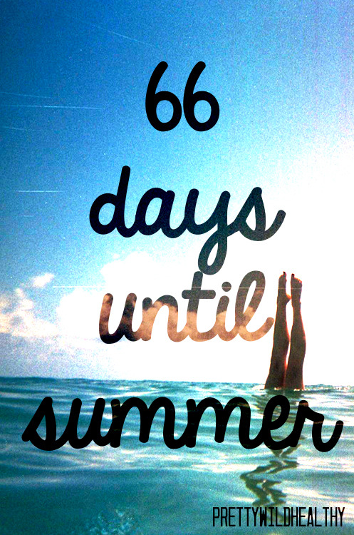 ☼✌ 66 days until Summer 2013 ✌☼