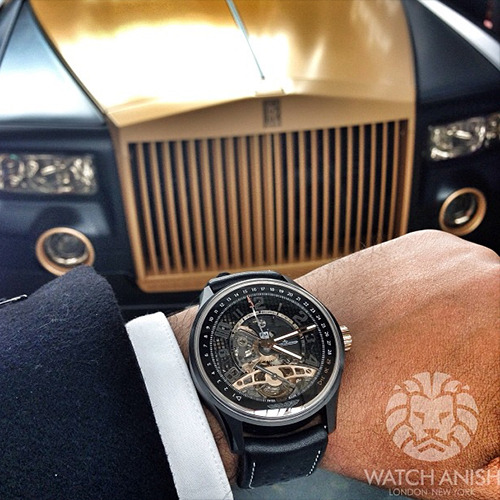 watchanish:  Don't match, don't care. Amvox x Mansory Rolls Royce Phantom.Live Feed