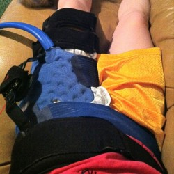 My huge hip contraption..