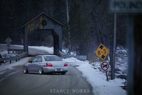 akeikas:  StanceWorks - Kevins Bagged Impreza by -KillerBlackbird- on Flickr.