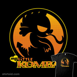danndesigns:  shirtoid:  My Little Kombat by Dann Matthews is $11 today only (5/17) at The Yetee  Last few hours to grab this shirt cheap!
