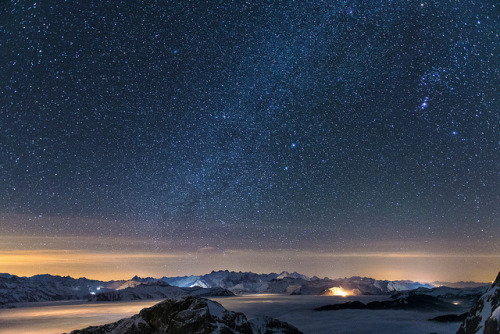 neptunesbounty:  1 Night on the Pilatus by PhiiiiiiiL on Flickr.
