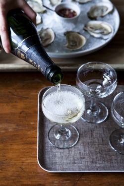 dark-rye:  Champagne and oysters. What's the occasion, you might say? How about … Tuesday?
