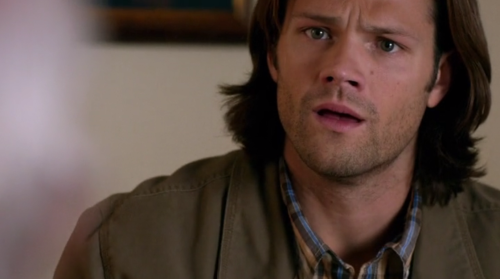 heathyr:  is he seriously asking sam winchester to throw away the hunter's version of the library of alexandria i mean look at his fucking face look at his pain he's like but knowledge