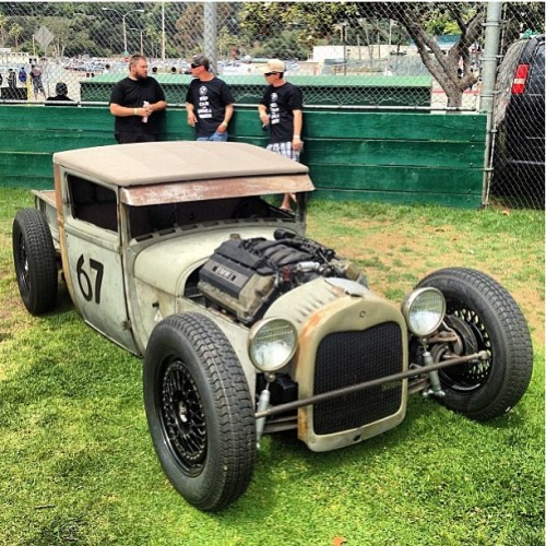 the80sareforever:  Cat's out of the bag. My 1928 BMW-powered V8 Ford Model A unveiled at #BimmerFest today. A year in the making - Expect a full photo shoot soon. And a special thanks to @byzaw for helping me get it done. To have the skills to build something like this from the ground up is amazing.