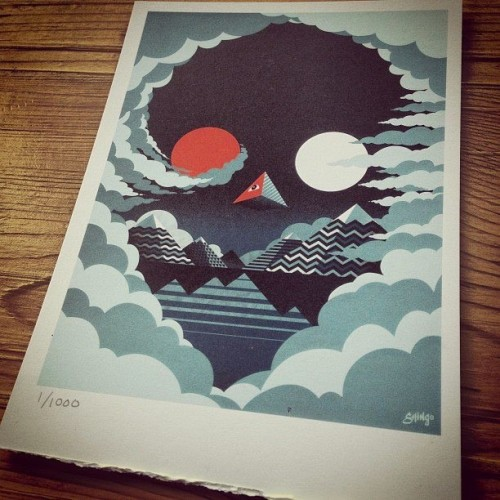 "I just posted ""Moonlight Skull for La Carnita"" @Shingo_Shimizu  (Canada) via Curioos"