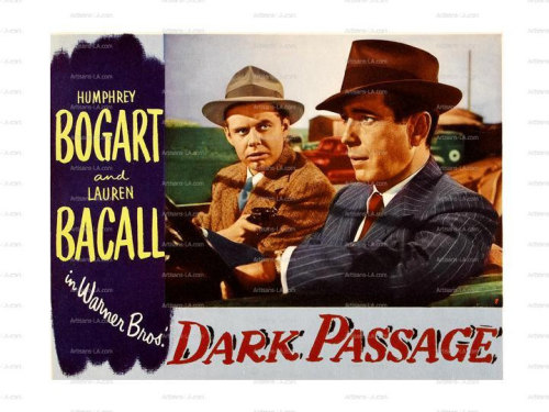 DARK PASSAGE Baker: I got the license number. I always had a good head for figures.  Vincent Parry: My only interest in your head is how easy it'll crack open