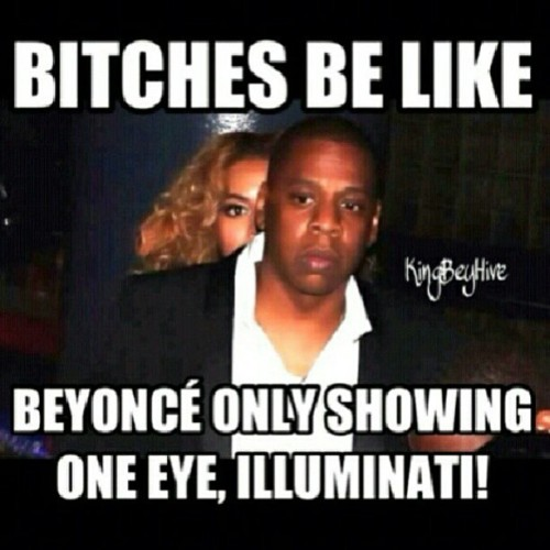 She's only showing 1 #Eye #Illuminati 😩😩😩😭😂😭😂😂😭😂😂