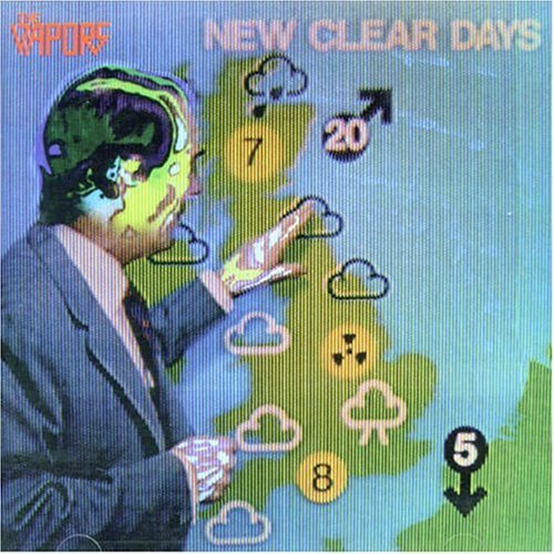The Vapors - New Clear Days Cover design by Tim Smith 1980