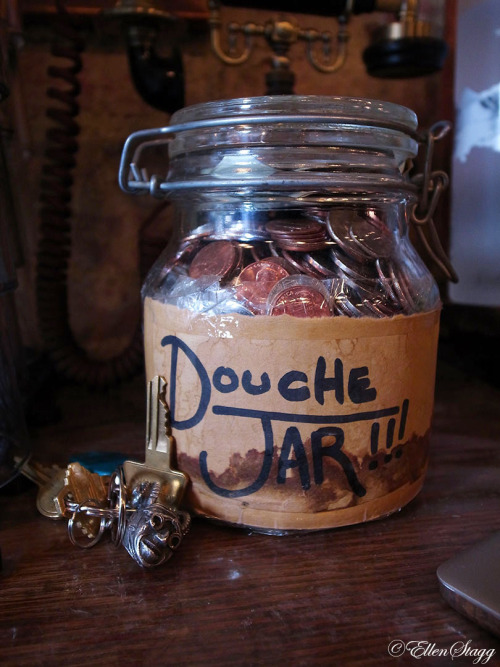 Douche Jar, shitty tips.