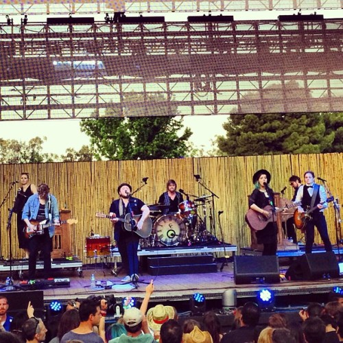 Of Monsters And Men - Live KROQ Weenie Roast Verizon Wireless Amphitheater May 18th, 2013 Irvine, CA