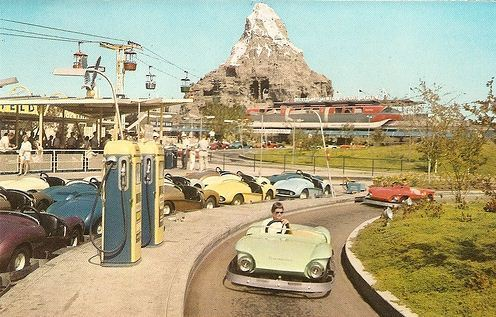 snowsgreen:  Disneyland 1959