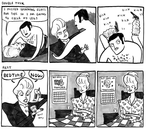 1980's Businesswoman Comics by Kate Beaton