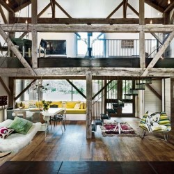 justthedesign:  Living Room Hamptons Barn Conversion Photography By Matthew Williams