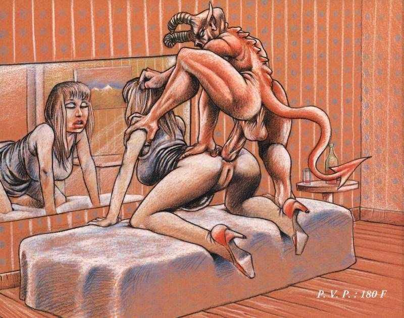 Фото секс с инкубом