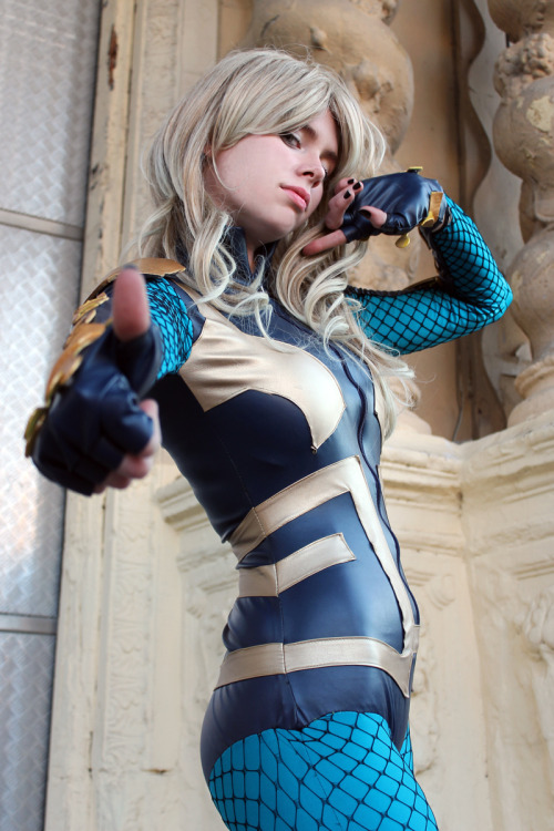 nomagikforme:  Black Canary Cosplay Whitelemon - Jillian - Florencia Sofen Muir as Black Canary from Birds of Prey [ New 52 - DC Comics] Photo by: Juliana Muir   https://www.facebook.com/ClintJillianCosplay