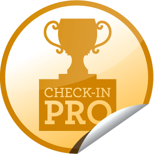 I just unlocked the Check-in Pro sticker on GetGlue                      556623 others have also unlocked the Check-in Pro sticker on GetGlue.com                  You're getting good at this! That's 25 check-ins for you!