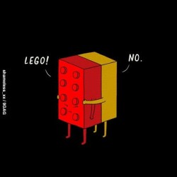 9gag:  Overly Attached LEGO