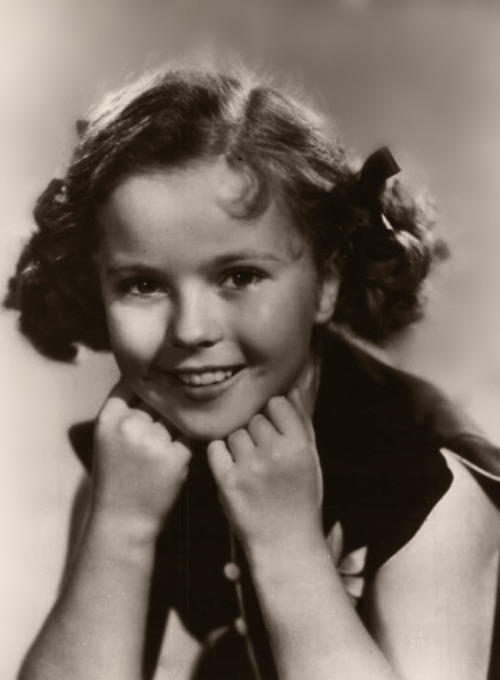 Shirley Temple in Rebecca of Sunnybrook Farm, 1938.