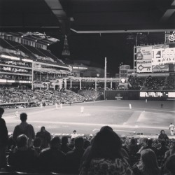 Last night @ the #clevelandIndians game. #baseball #cleveland #theland #home