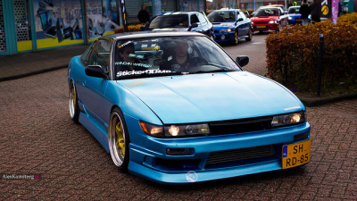 minauto:  Nissan 200SX by Alex Kamsteeg on Flickr.
