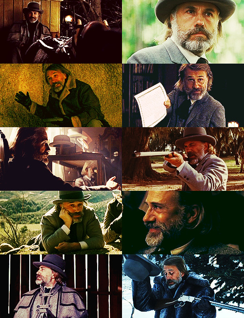 Christoph Waltz as → Dr. King Schultz (Django Unchained)