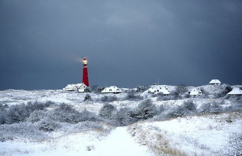 Schiermonnikoog Lighthouse in the snow on Flickr.Lighthouse in the snow Schiermonnikoog Netherlands