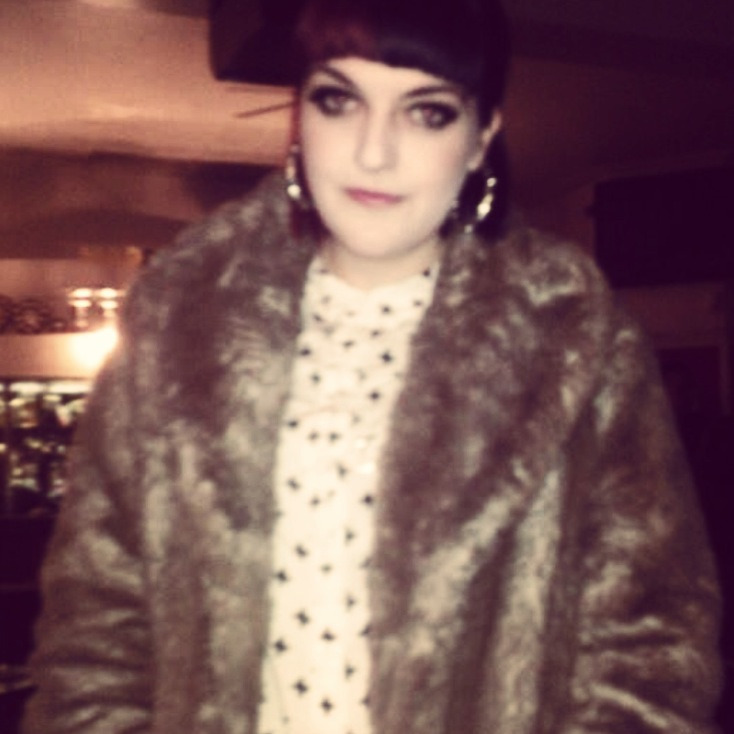 I literally love that fur coat too much.