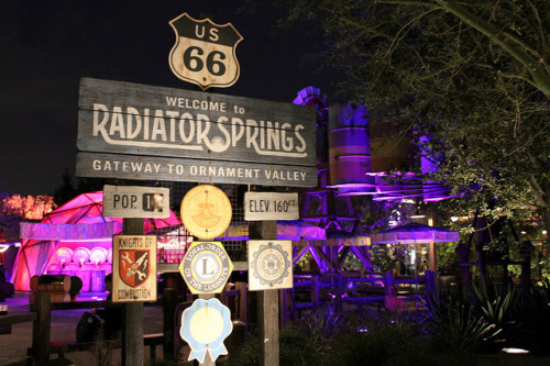 dolewhipsandchurros:  Welcome to Radiator Springs on Flickr.