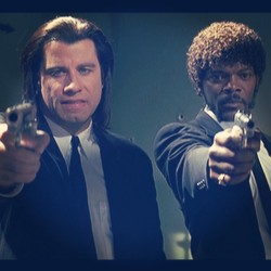 #pulpfiction #saywhatagain #what #samueljackson #johntravolta #bestmovie #movies by scoobaxx http://bit.ly/14vrdhH