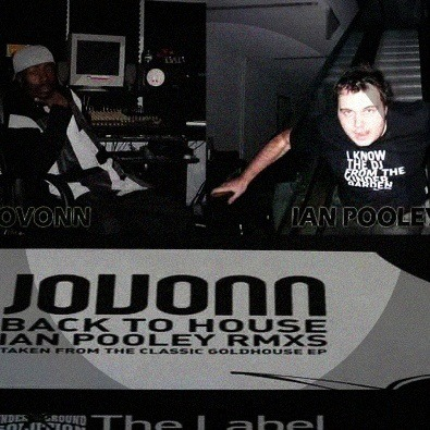 'Back To House (Ian Pooley's main mix)' by Jovonn is my new jam.