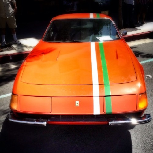 Orange You Glad I Didn't Post #Ferrari Shots Today? #ConcorsoFerrari #Pasadena  (at Old Town Pasadena)
