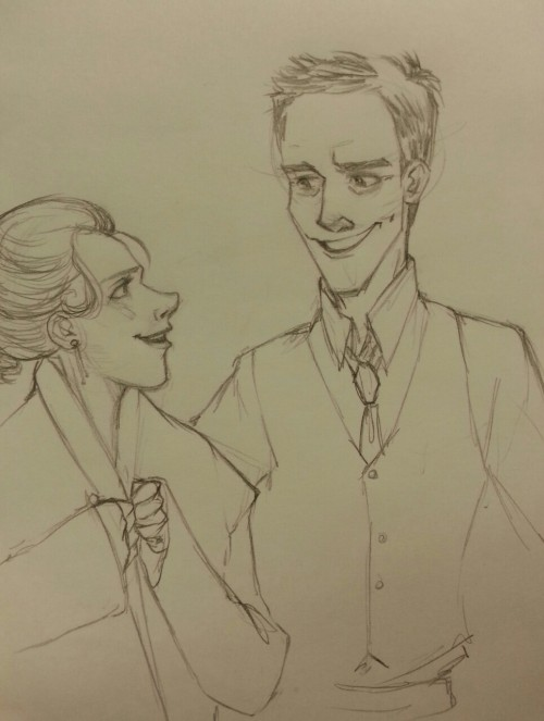 notluvulongtime requested Molly and Lestrade.  Molly accompanies Greg to the first family wedding since his divorce,  and the night is rather cooler than expected. Greg is a gentleman.  :)