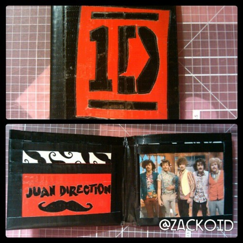 zackoid:  Juan Direction #ducktapewallet @1dagram 8 pockets, mustache billfold