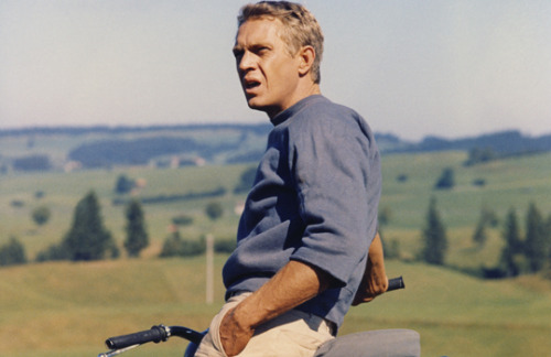 asthetiques:  STEVE MCQUEEN - THE GREAT ESCAPE.  This man is everything I strive to be.