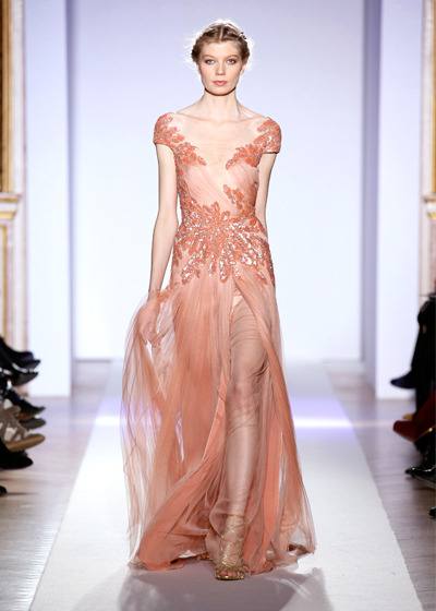 Zuhair Murad can do no wrong. All his designs are so uniquely feminine and fabulous. Stunning.