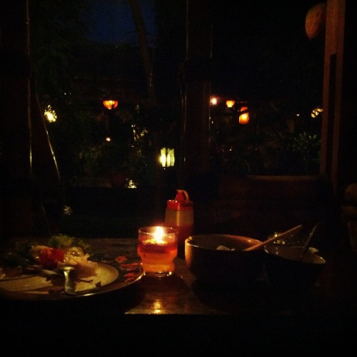 Candlelight dinner :)