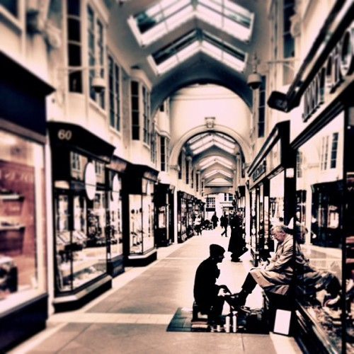 Beautiful Burlington Arcade  (at Burlington Arcade)