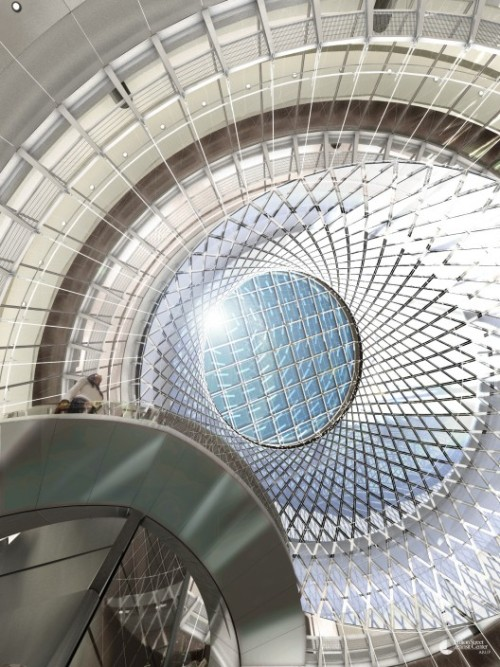 fulton center | skylight ~ arup | grimshaw architects