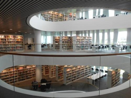 nevver:  die Bibliothek
